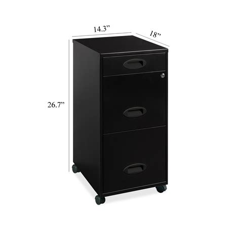 hirsh soho 2 drawer lateral file cabinet in black hirsh 2 drawer soho mobile file cabinet 18 inch black