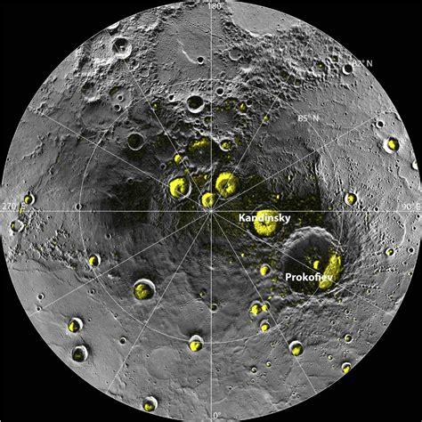 north pole  mercury harbours ice nasa probe confirms