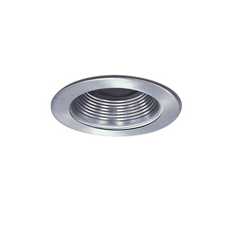 4 inch recessed lighting bulbs 4 inch recessed line voltage baffle trim nickel lights