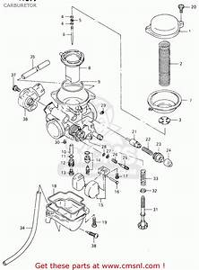 Suzuki Gz125 1999  X   E01  Carburetor