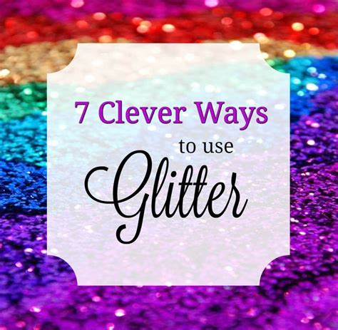 7 Clever Ways To Use Glitter In Face Painting