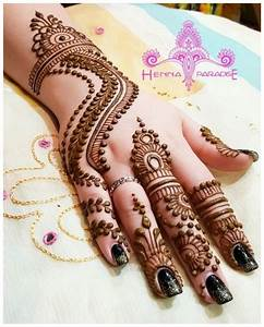 13 Dilkash Mehndi Designs 2018 with Easy Pattern