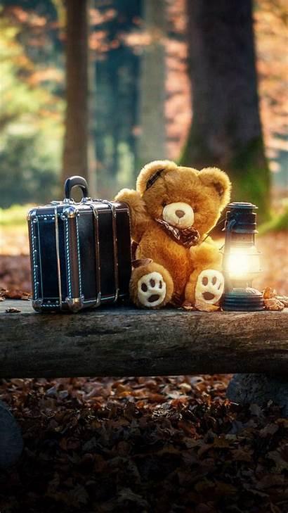 Teddy Bear Wallpapers Iphone Bears Screensavers Suitcase