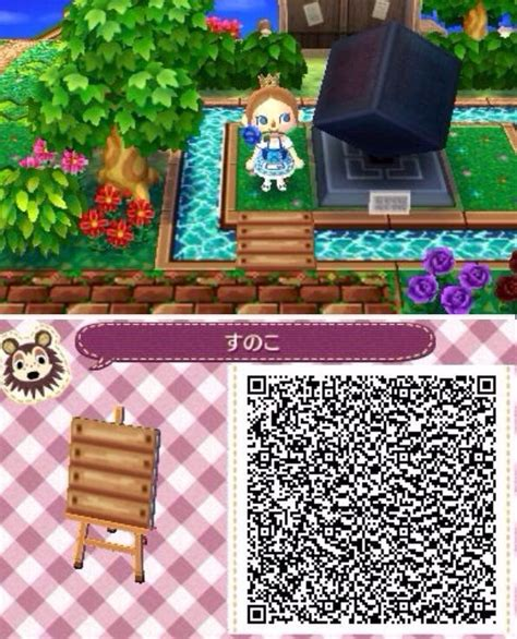animal crossing  leaf stairs qr code google search
