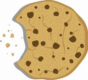 Cookie clipart transparent - Pencil and in color cookie ...
