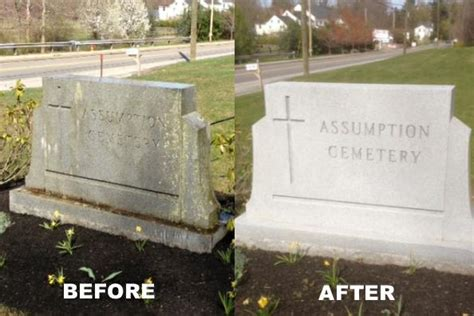 why clean and your gravestone monument and restore bronze