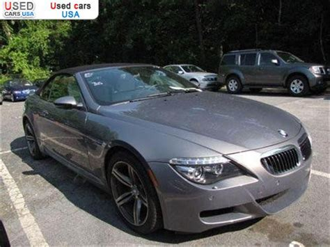 2008 Bmw M6 For Sale by For Sale 2008 Passenger Car Bmw M6 Convertible Roswell