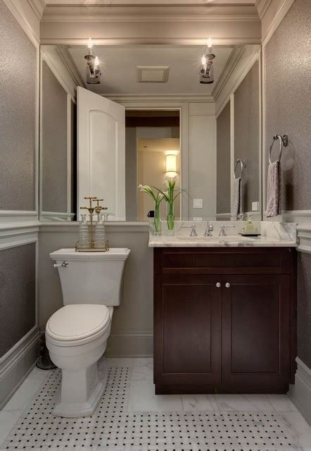 vanities mirrors smallest  powder room small