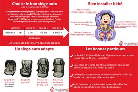 bien choisir siege auto bebe conseils pour bien choisir le siège auto enfant mycarsit