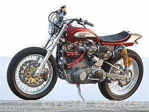 Racing Caf U00e8  Mule Motorcycles Xr 1660 Street Tracker  U0026quot The