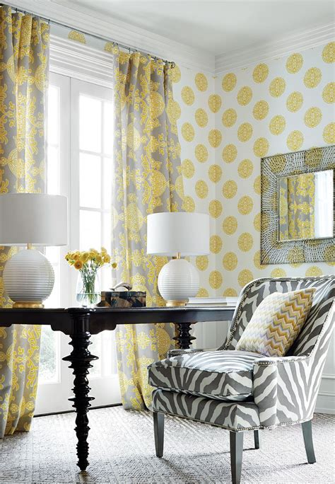 Yellow Living Room Wallpaper by Grey And Yellow Wallpaper Living Room Homebase Wallpaper