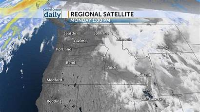 Radar Interactive Regional Weather Satellite Oregon Daily