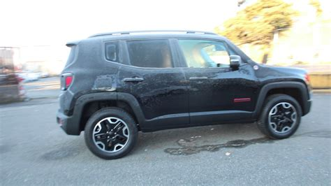 jeep trailhawk black 2017 jeep renegade trailhawk hpe37052 black redmond