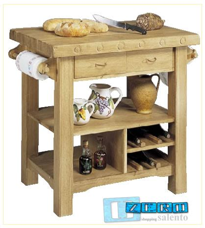 tavolo da lavoro cucina tavolo lavoro da cucina rustico in rovere