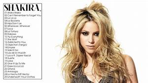 Shakira Greatest Hits Full ALbum Live Cover 2017 - YouTube