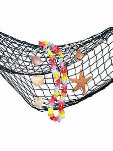 Fischernetz Mit Muscheln : fischernetz mit muscheln und blumenkette party deko schwarz bunt ~ Sanjose-hotels-ca.com Haus und Dekorationen
