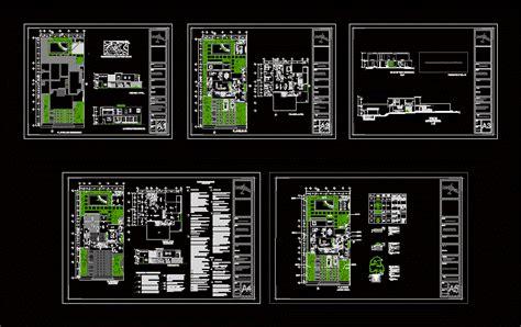 modern house  spacious garden  dwg plan  autocad designs cad
