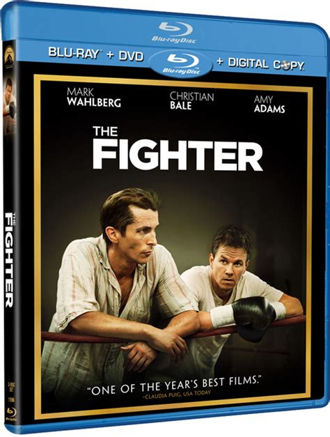 The Fighter With Christian Bale Blu Ray Release Date