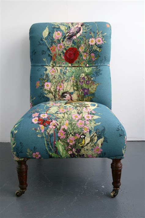 Upholstery Fabrics For Chairs by Swooning These Timorous Beasties Chairs Fabric