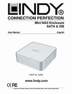 Mini Nas Enclosure Sata  U0026 Ide 42808 Manuals