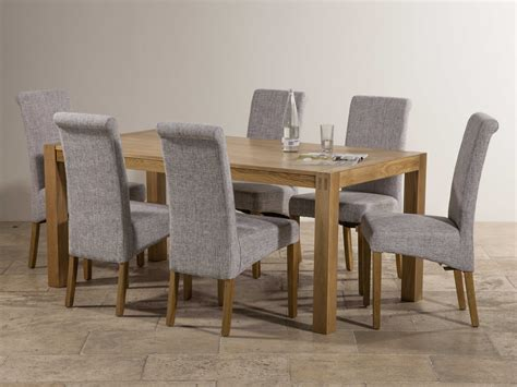Dining Table With Grey Chairs Alluring Decor Fern Gloss
