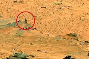 На снимке с Марса найден «марсианин» (ФОТО)