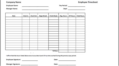 timecard hours how to create a self calculating timesheet in excel