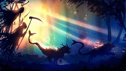 Fantasy Forest Deviantart Wallpapers Ryky Behind 1080p