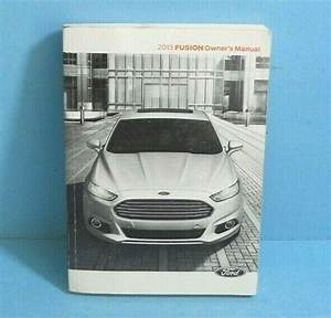 13 2013 Ford Fusion Owners Manual With Sync  Navigation
