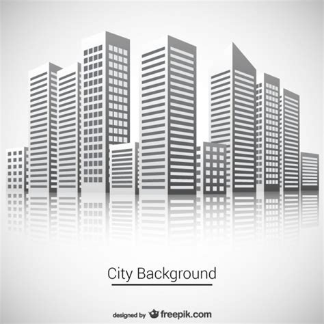 city background vector vector