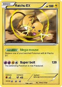 Pokémon M Raichu EX 4 4 - Mega mouse - My Pokemon Card