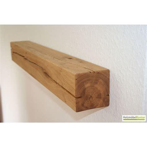 Wandregal Holz  Balkenregal Holzmoebelkontorde