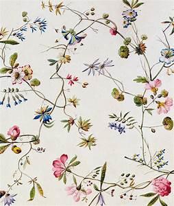 Textile Design Painting by William Kilburn