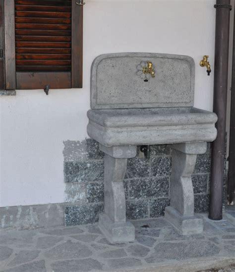 lavello esterno 66 best images about realizzazioni fontane a muro e