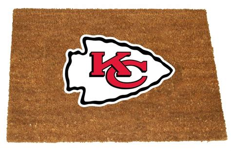 kansas city chiefs colors kansas city chiefs color exterior doormat