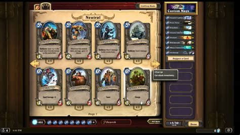 hearthstone deck building 101 hearthstone gameplay 101 exploring cards and custom