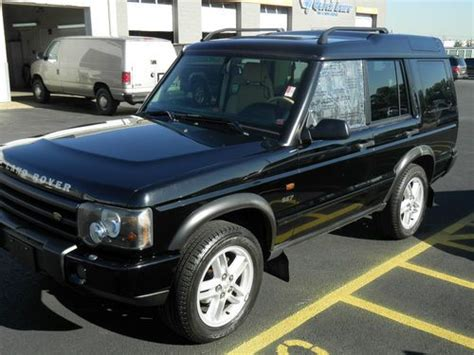Find Used 2003 Land Rover Discovery Ii Complete / Parts