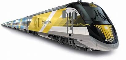 Train Rail Transparent Brightline Bullet Speed Florida
