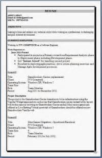 resume format for fresher english teachers resume templates