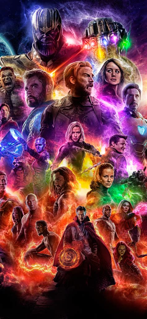 1242x2688 Avengers 4 End Game 2019 Iphone XS MAX HD 4k