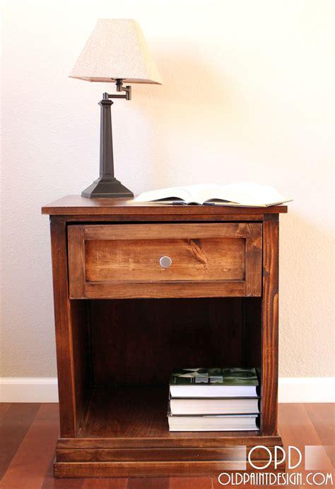 furniture plans bedside table woodworker magazine