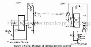 infrared remote controller electronics project With infrared switch using any infrared remot