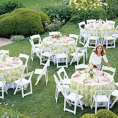 inspiration for a romanitic outdoor Bridal shower