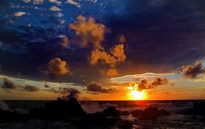 Sunset Soare Apus Imagini Horizon Resolution Rasarit