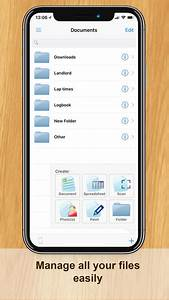 documents app report on mobile action With documents app storage