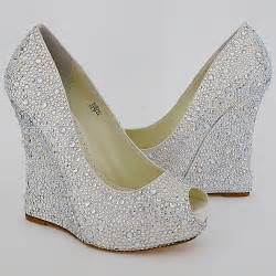 wedding shoe wedges bridal shoes wedges uk