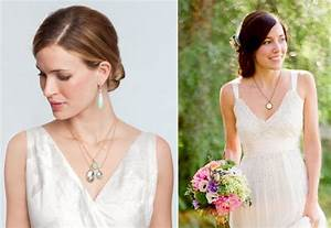 wedding jewelry tulle chantilly wedding blog With jewelry for v neck wedding dress