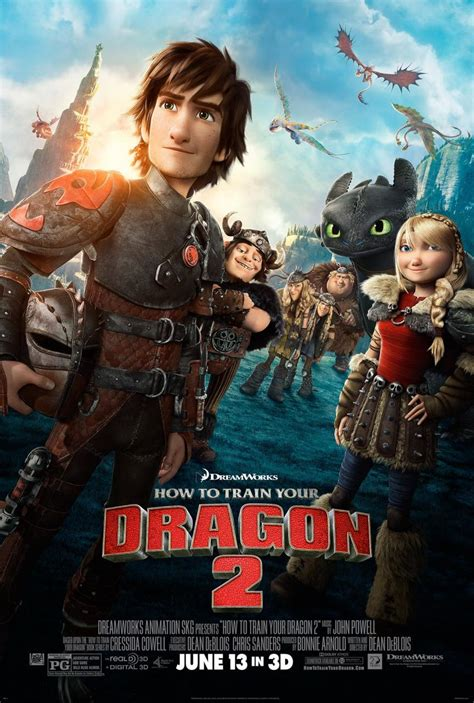 How to Train Your Dragon 2 (2014) Movie Trailer, Release Date, Cast, Photos