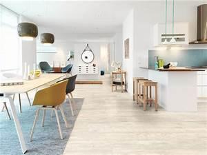 Cuisine Avec Parquet : cuisine ouverte on mise sur les sols design home le magazine des nouvelles tendances ~ Melissatoandfro.com Idées de Décoration