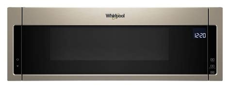 wmlhn whirlpool  cu ft  profile microwave hood combination sunset bronze airport